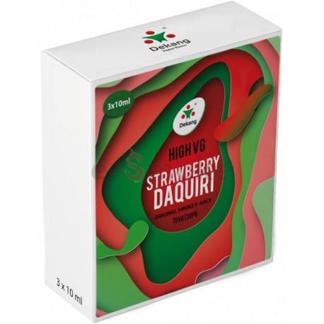 3-Pack Strawberry Daquiri Dekang High VG