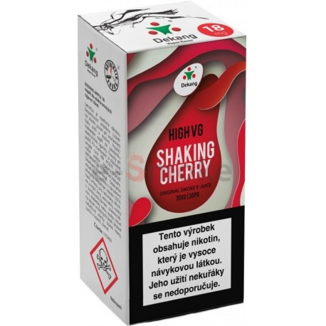 10ml Shaking Cherry Dekang High VG