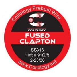 Coilology Fused Clapton SS316L 2-26/38 drôt (3m)