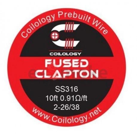 Coilology Fused Clapton SS316L odporový drôt (3m)