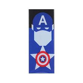 Wrap fólia Captain America na 18650