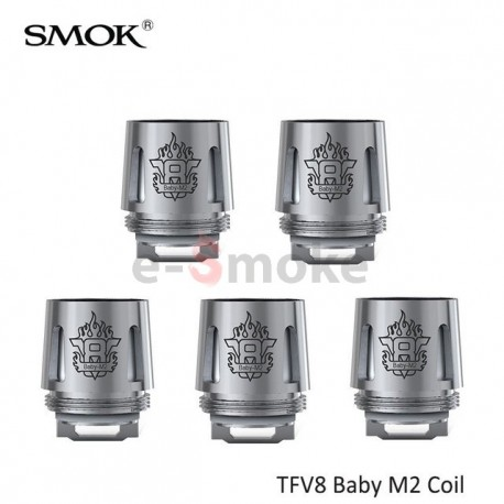 5ks SMOK V8 Baby M2 žhaviaca hlava