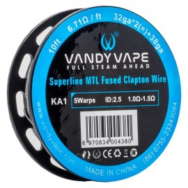 Vandy Vape KA1 Superfine MTL Fused Clapton_32ga