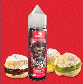 40/20 ml Gambler RED WOLF Shake&Vape