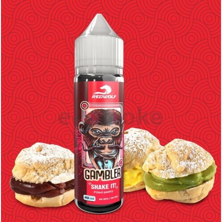 40/20 ml Gambler REDWOLF Shake&Vape