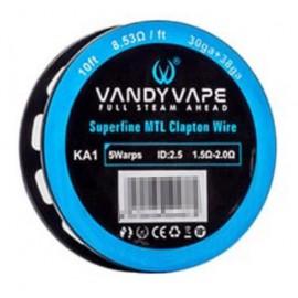 Vandy Vape KA1 Superfine MTL Clapton_30ga+38ga