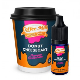 10 ml Donut Cheesecake COFFEE MILL aróma