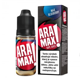 10 ml Max Blueberry Aramax e-liquid