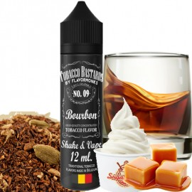 12 ml Bourbon No.09 Tobacco Bastards Shake&Vape