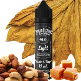12 ml Light Tobacco No.33 Tobacco Bastards Shake&Vape