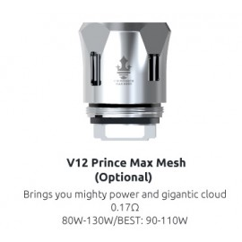 SMOK V12 Prince Max Mesh 0,17 Ohm žhaviaca hlava
