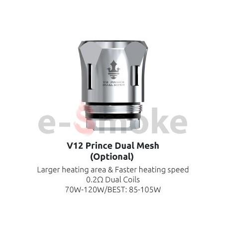 SMOK V12 Prince Dual Mesh 0,2 Ohm žhaviaca hlava