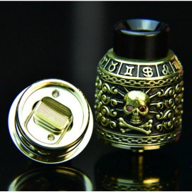 Riscle Pirate King II RDA 24mm GOLD