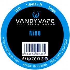 Vandy Vape Ni80 24GA 9m