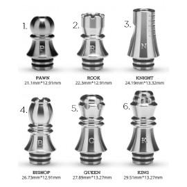 šachový náustok Silver Kizoku 510