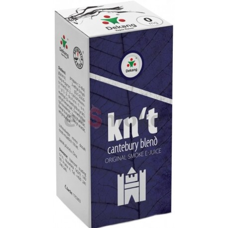 KN´T - Cantebury Blend e-liquid 10 ml Dekang Classic