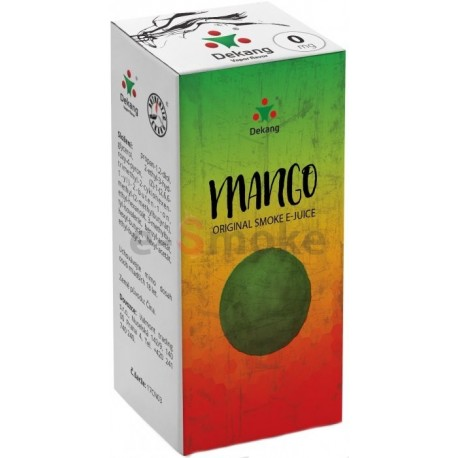 Mango e-liquid 10 ml Dekang Classic