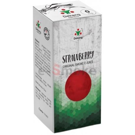 Jahoda e-liquid 10 ml Dekang Classic