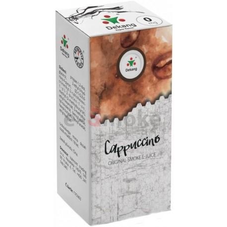 Kapučíno e-liquid 10 ml Dekang Classic