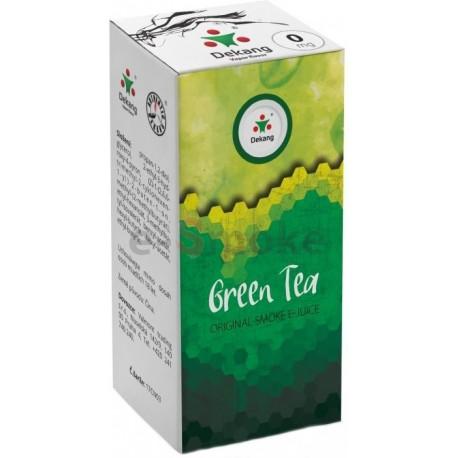 Zelený čaj e-liquid 10 ml Dekang Classic