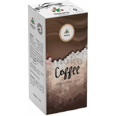 Káva e-liquid 10 ml Dekang Classic