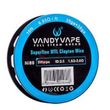 Vandy Vape Ni80 Superfine MTL Clapton_30ga+38ga