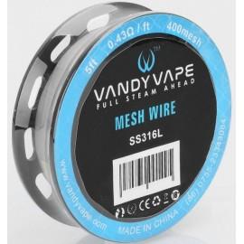 Vandy Vape 400 Mesh SS316L klbko 1,5m