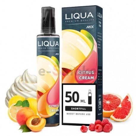 50/20 ml Citrus Cream LIQUA MIX&GO Shake&Vape