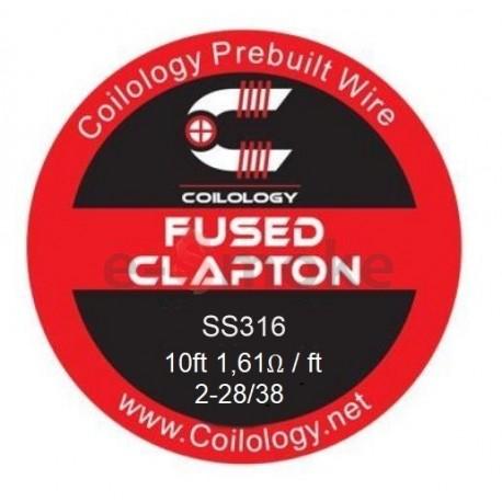 Coilology Fused Clapton SS316L 2-28/38 drôt (3m)