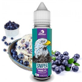 40/20 ml Sniper RED WOLF Shake&Vape