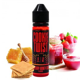 50/10 ml Strawberry Honey Graham Cookie Twist S&V