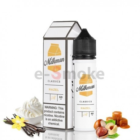 60ml Hazel The Milkman - 50 ml S&V