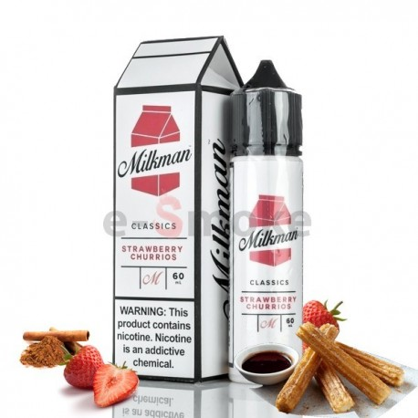 60 ml Strawberry Churrios The Milkman - 50 ml S&V