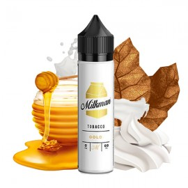 60 ml Gold Tobacco The Milkman - 50 ml S&V