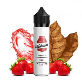 60 ml Red Tobacco The Milkman - 50 ml S&V