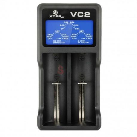 Xtar VC2 Li-Ion nabíjačka pre monočlánky s micro USB káblom