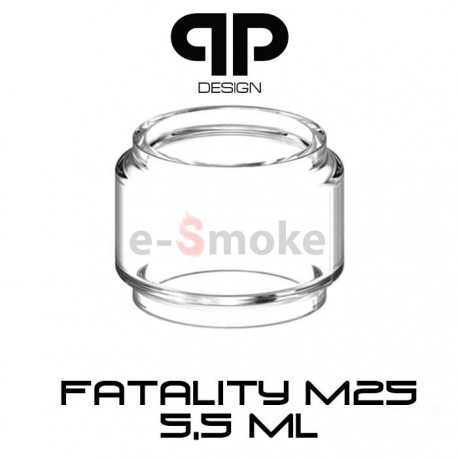 QP Design Fatality M25 RTA sklo - 5,5 ml