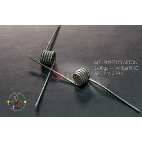 Ketchi Coils Ni80 MTL Fused Clapton 0,7Ω