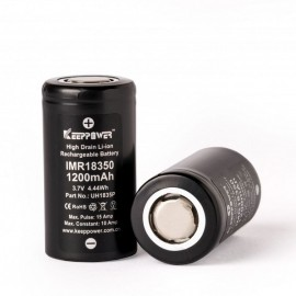 batéria KeepPower 18350 - 1200 mAh, 10A