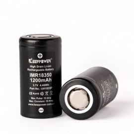 batéria KeepPower 18350 - 1200 mAh, 10A