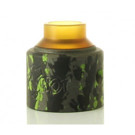 Money Shot RDA CAP by Purge Mods - Tungsten Green Splatter (Brass)