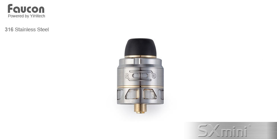 SXmini Faucon RDTA (www.e-smoke.sk)