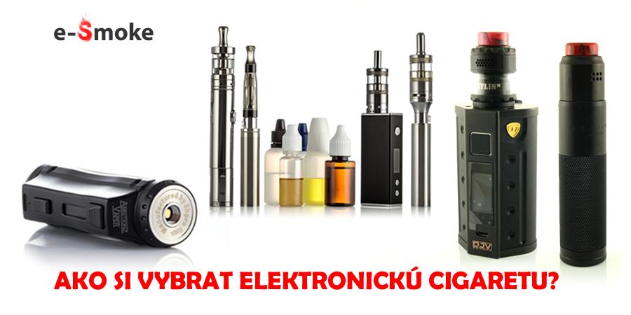 ako si vybrat elektronicku cigaretu_typy a rady od e-smoke