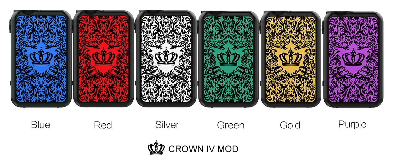 Uwell Crown 4 Checkmate sada s Crown IV atomizérom (www.e-smoke.sk)