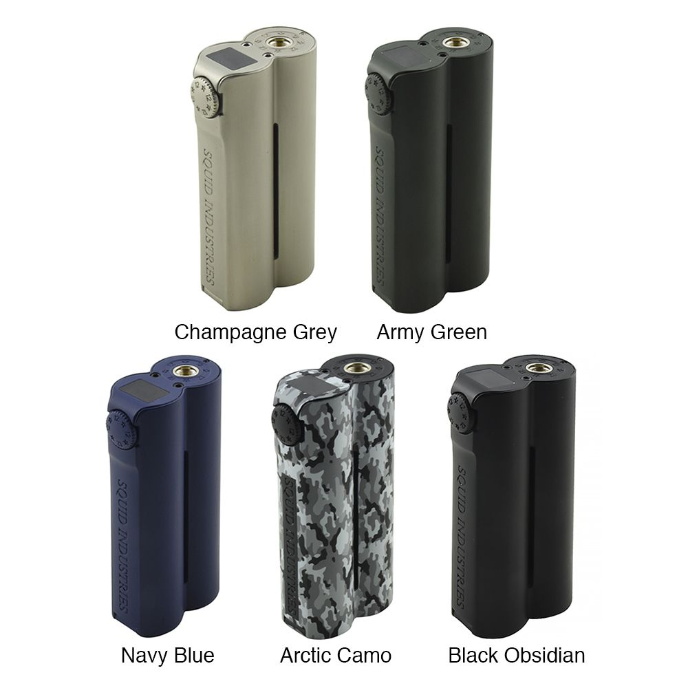 Squid Industries Double Barrel V3 Box MOD 150W (www.e-smoke.sk)