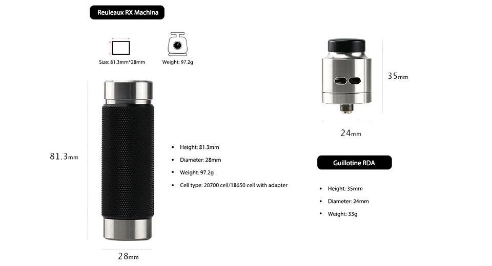 WISMEC Reuleaux RX Machina Kit Honeycomb Resin (www.e-smoke.sk)