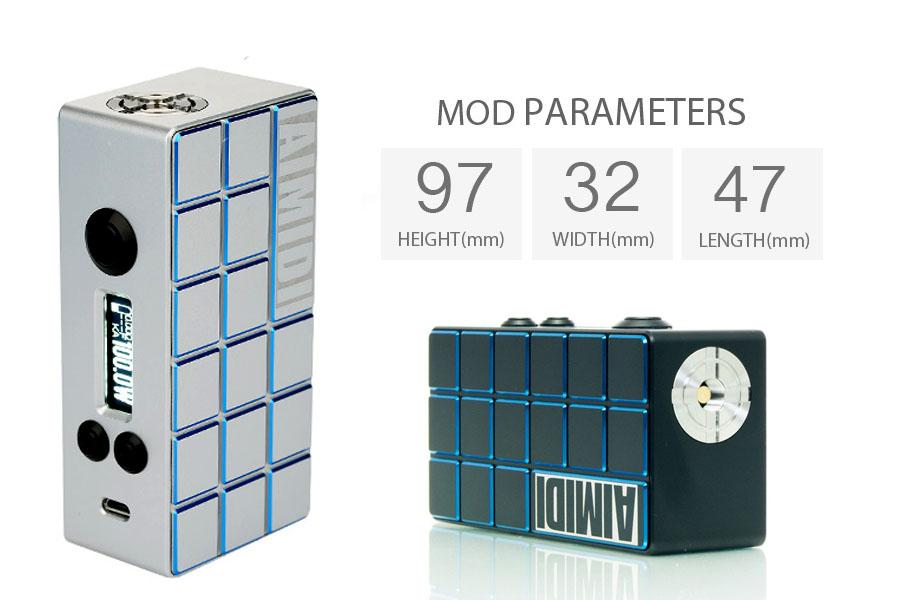AIMIDI Cube Mini+ Ai 100W MOD (www.e-smoke.sk)