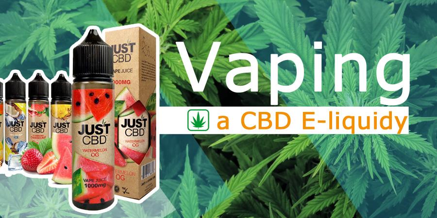 Vaping a CBD E-liquidy – výhody inhalovania CBD (www.e-smoke.sk)