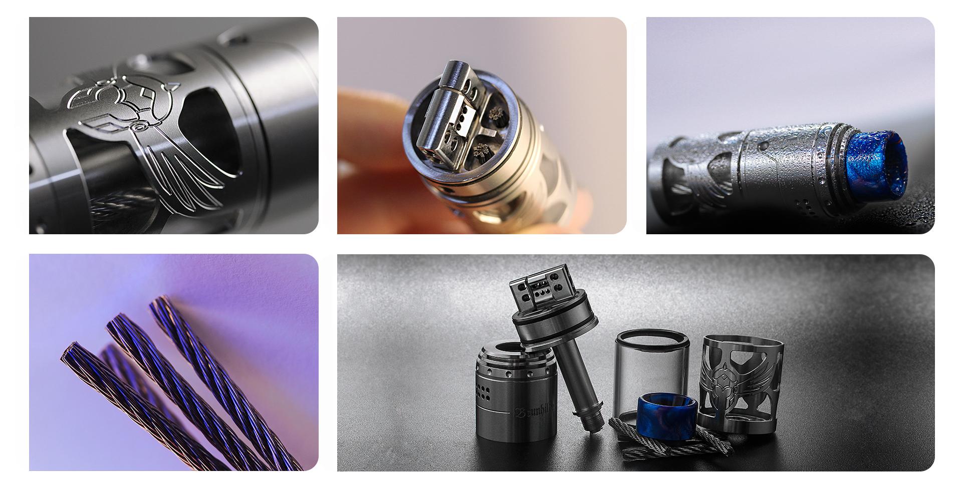 Brunhilde Top Coiler RTA - 25,2mm (www.e-smoke.sk)