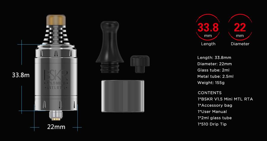 Vandy Vape Berserker V1.5 Mini MTL RTA (www.e-smoke.sk)